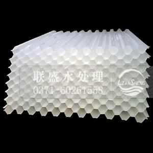 pp聚丙烯六角形蜂窝斜管填料